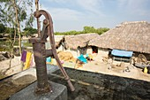 A water pump used by subsistence farmers