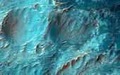 Bigbee Crater,Mars,satellite image