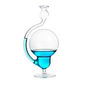 Storm glass,or Goethe barometer
