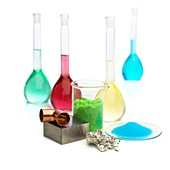 Transition elements and their salts