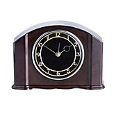 Domestic clock with a bakelite housing