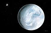 Snowball Earth,illustration