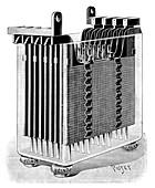 Heinz lead-acid battery,19th century