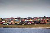 Port Stanley in the Falkland Islands