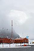 Base Orcadas,Antarctica