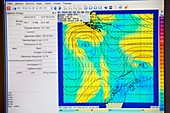 A weather readout for the Drake Passage