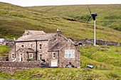 A remote moorland house