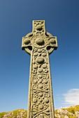 St Oran's Cross in Iona Abbey
