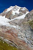 The rapidly retreating glaciers