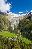 Retreating Glacier du Tour,France