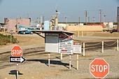 A fracking truck,USA