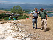 Drone survey of Neanderthal fossil site