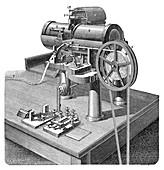 Thomson telegraph recorder,19th century