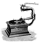 Telemicrophonograph,early 20th century