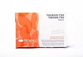 Thyroid function home test kit