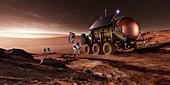 Mars exploration,artwork