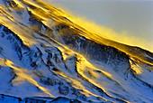 Mount Damavand at dawn,Iran