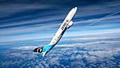 Airbus A300 zero-gravity plane