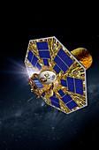 Darwin infrared space telescope