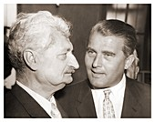 Hermann Oberth and Wernher von Braun