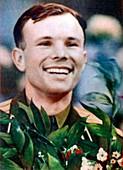 Yuri Gagarin,first man in space
