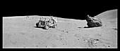 Apollo 16 lunar rover
