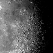 Surface of the Moon,optical image