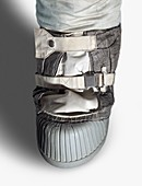 Apollo astronaut boot,illustration