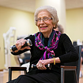 Elderly seated work-out