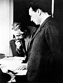 Einstein and Pauli,physicists