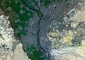 Cairo,Egypt,satellite image
