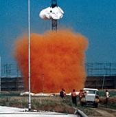 Heavy gas dispersion trials,1980s