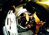 Apollo Soyuz Test Project docking,1975
