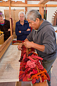 Weaving demonstration,Mexico