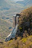 Rock terrace,Mexico