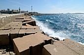 Sea defences,Marseille,France