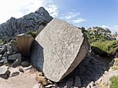 Ancient granite quarry