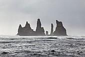 Seastacks near Vik,Iceland