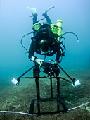 underwater seabed survey