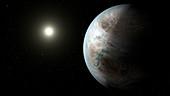 Exoplanet Kepler-452b,illustration