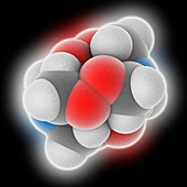 HMTD explosive molecule