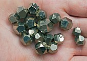 Pyrite dodecahedrons I