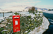 Post box in St Johns in the Vale,UK