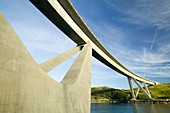 Kylesku Bridge in Assynt,Scotland,UK
