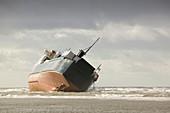 Riverdance shipwreck,Blackpool,UK