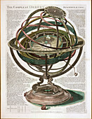 The Compleat Orrery,by Samuel Dunn,1780