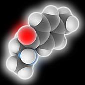 Mephedrone drug molecule