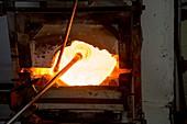 Glassblower's furnace