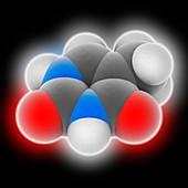 Thymine molecule