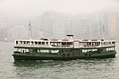 The Kowloon-Hong Kong ferry